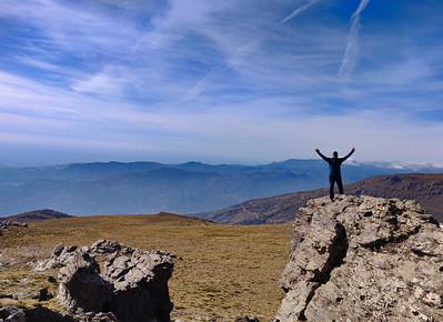 Cuna 2292m, Tajos del Posito
