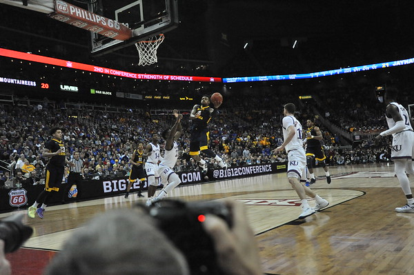 WVU Basketball Big 12 Tournament vs Kansas