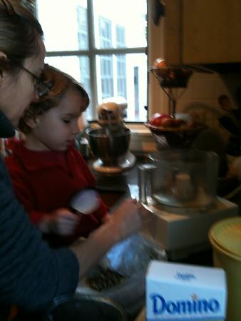 Baking at the Koch's 12-20-13