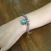 2.65ctw Victorian Turquoise and Rose Cut Diamond Tiara Bangle 14