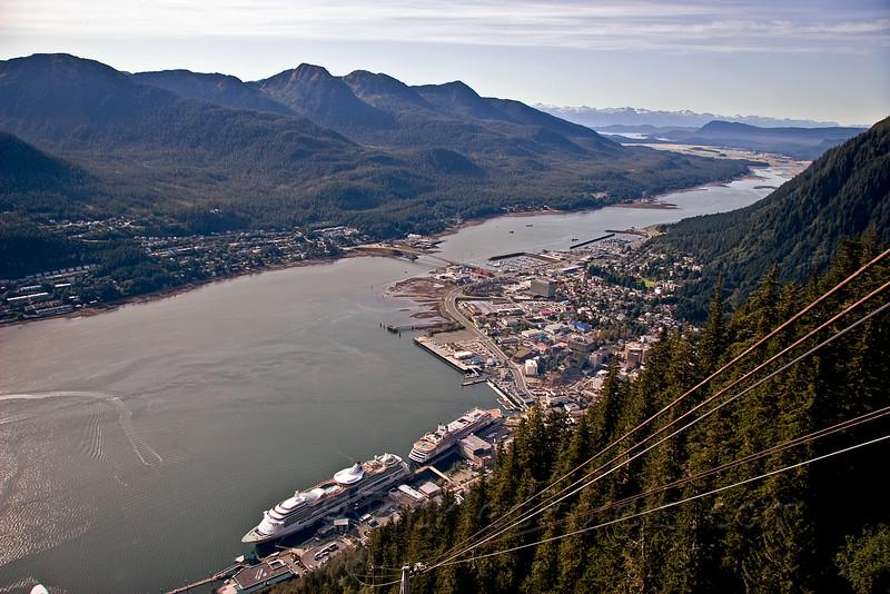 Juneau from Mount Roberts