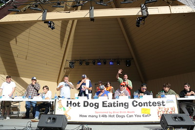 Hot Dog Eating Contest 2021