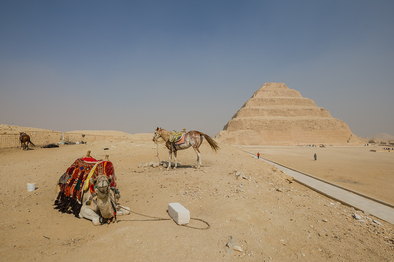 Pyramid of Djoser in Egypt