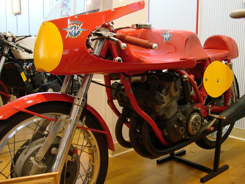 1965 MV 500cc triple racer