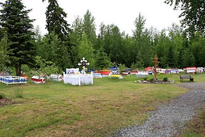 Alaska - Russian Spirit Houses