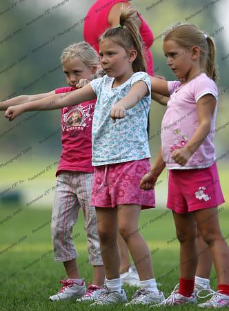 Cheerleading Practice 2009