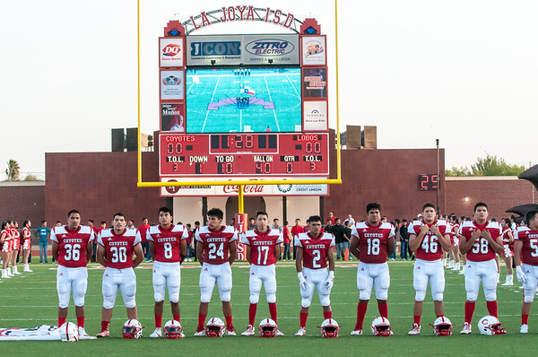 August 30, 2019 - Football - Palmview Lobos vs La Joya Coyotes_LG