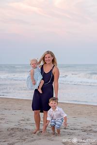 Sailfish Lane, Avon, Hatteras Island, North Carolina, Family Photos, Sunset, Epic Shutter Photography