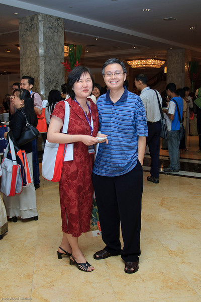 Dr Chew and Hubby