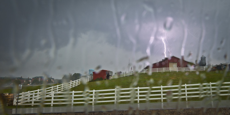 Lightning at Horsebarn Hill, UConn