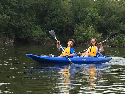 Aug. 13 - Kayak on Fox River