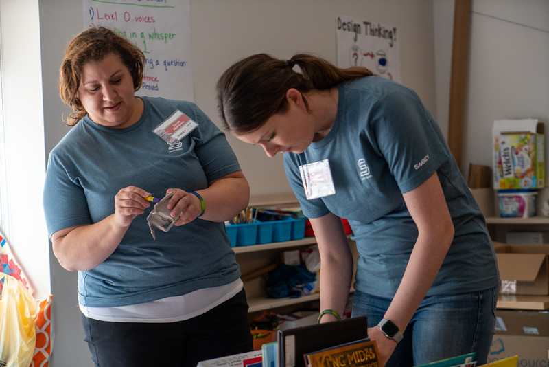 Sabey Day of Giving at Impact School