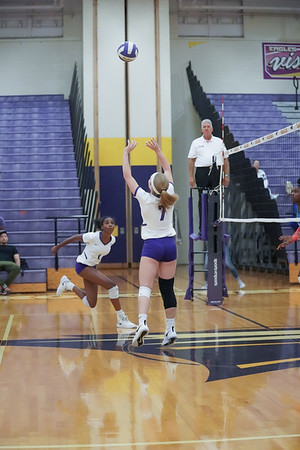 Richardson High School Volleyball Vs Duncanville Panthers