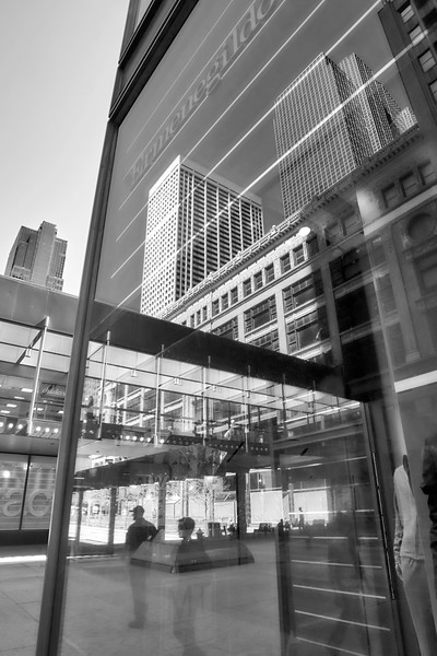 Nicollet Mall Reflections