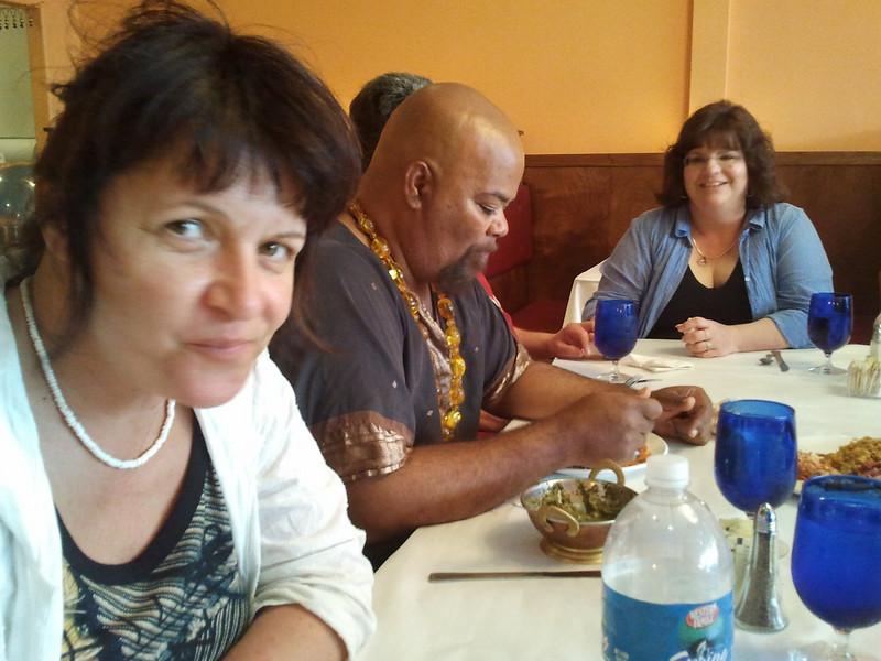 lunch in indian restaurant