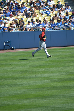 Diamond Backs at Dodgers, Bottom of the Eighth, 20 April 2014