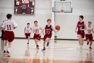 1/9/19: Boys' Fourths Basketball v Gunnery
