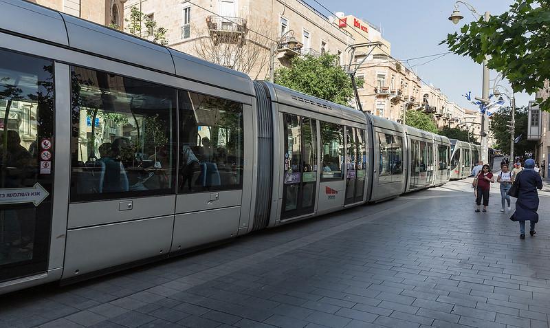 Jerusalelm's light rail