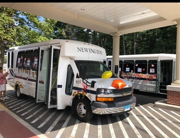 Newington senior ice cream truck