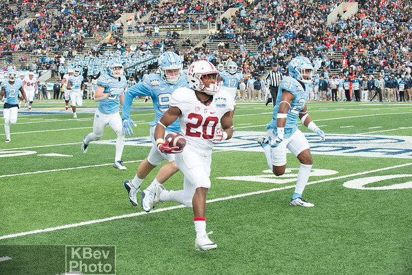 83rd Sun Bowl - Stanford 25 v UNC 23 (Dec 16)