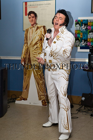 Elvis Plays the Oakville Legion