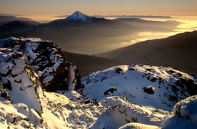 the Scottish mountains