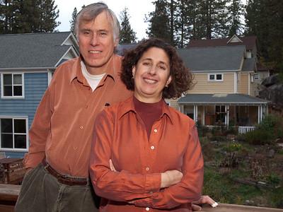 Photos of Katie & Chuck for new book, Nov. 19, 2010