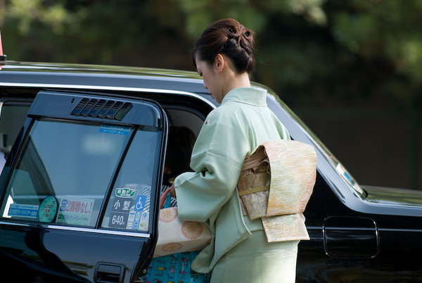 Getting Around Kyoto - image copyright Jeffrey Friedl