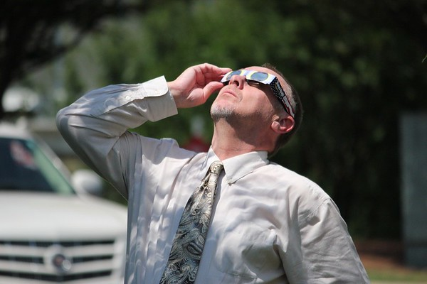 Watching the Eclipse