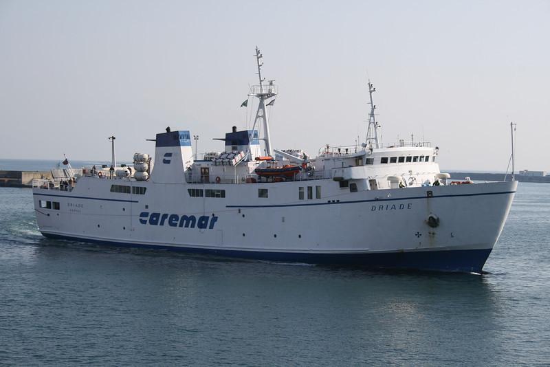 2008 - F/B DRIADE arriving to Napoli.