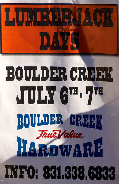 2013 Boulder Creek Lumberjack Days