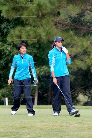 Kayla Thompson golf