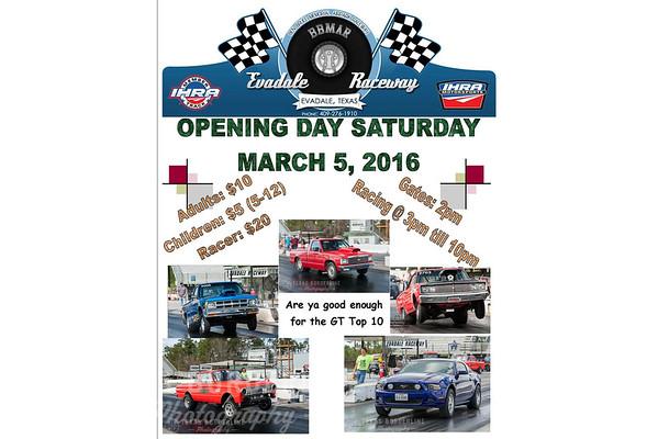 3-5-2016 Evadale Raceway 'Season Opener'
