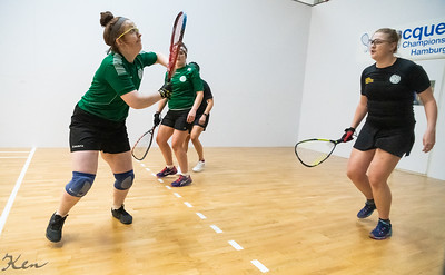 2019-09-07 Women's Doubles - Open Final  Katie Kenny & Majella Haverty (Ireland) over Antonia Neary & Olivia Downey (Ireland)