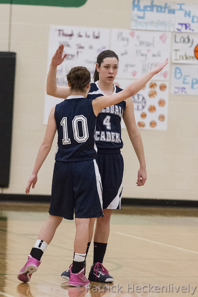 2013-03-05 Hillsdale Academy Girl's Varsity Basketball vs. Pittsford