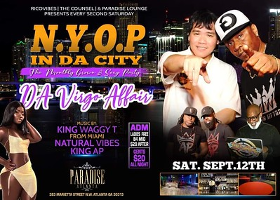 N.Y.O.P IN DA CITY FEATURING KING WAGGY, KING AP & NATURAL VIBES