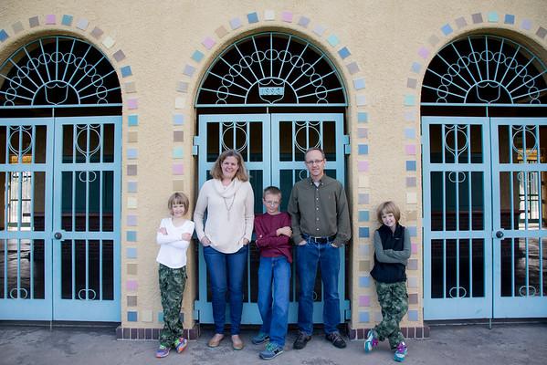 Brian, Debbie, Matthew, Lauren & Kate