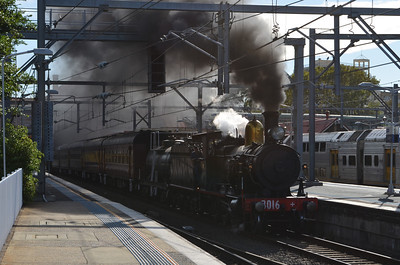 Steam in the Suburbs with 3016
