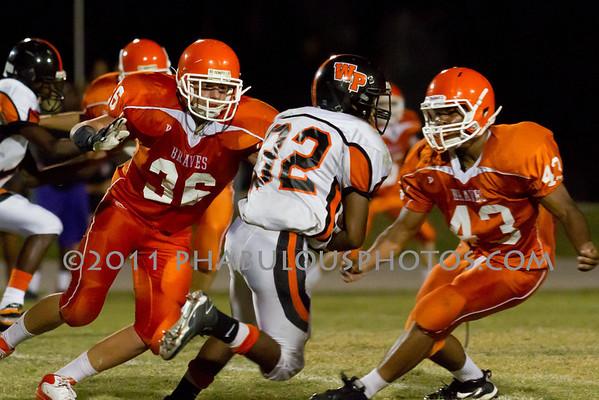 Boone JV Football #36- 2011