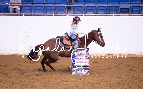 Virginia Classic Barrel Race Sunday 6-4-17 # 5 Youth