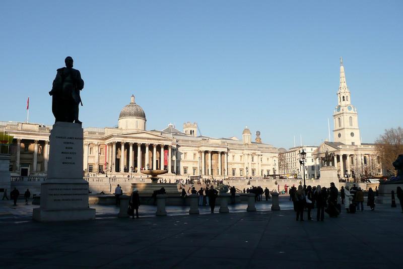 Trafalgar Square. London