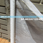 SKU: SP-MESH/120/40, 120 Nylon Screen Printing Mesh, White on Cardboard Tube