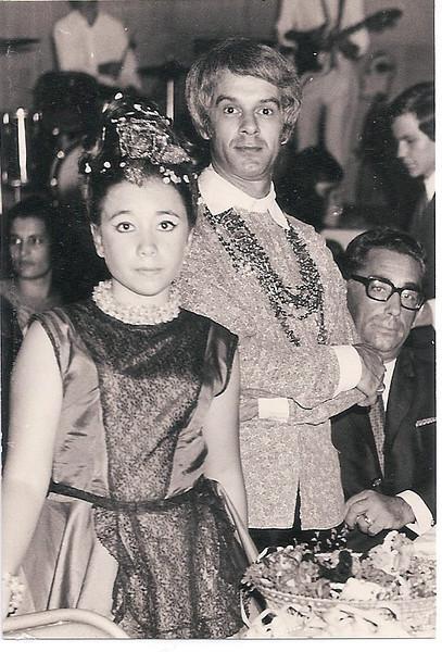 1970 - Carnaval   Lu Canhao Veloso, Paula Botelho e Zé Gameiro, Antonio Botelho, Ze' Joao Mendonca