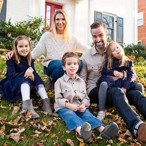 Rachel & Tim's Front Porch Portraits