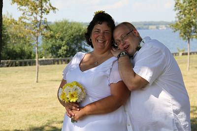 Sarah and Edward Richardson ceremony 8-17-2013