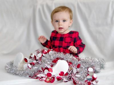 Baby Mia Christmas Card