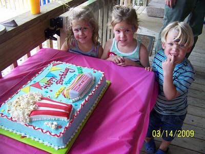 Triplet 4th Birthday