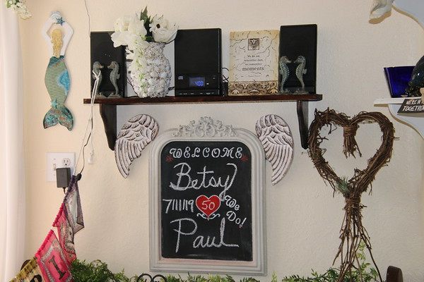 Paul and Betsy's 50 year Vow Renewal, Anniversary Celebration!