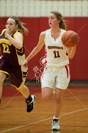 2009-01-05 Basketball Girls VarsitySJS v CHSA