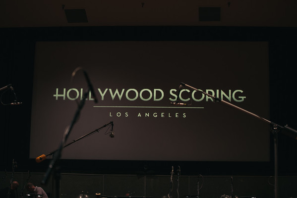 Hollywood Scoring @ Warner Bros Eastwood Scoring Stage April 2016